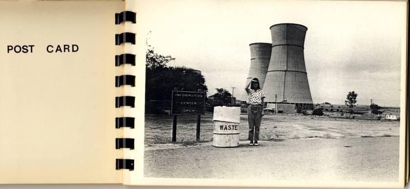F0635 One of the earliest nuclear energy protest pics