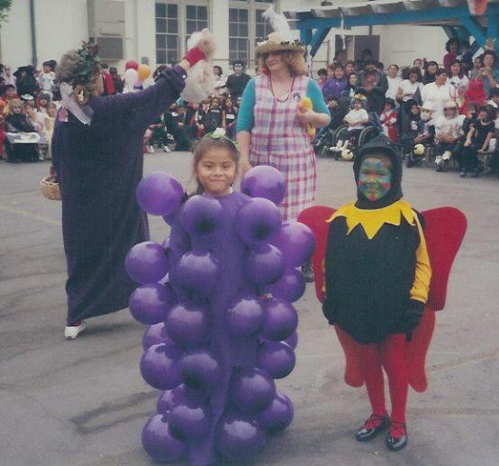 F0853 Vernon Elementary Halloween Contest ~ 1990