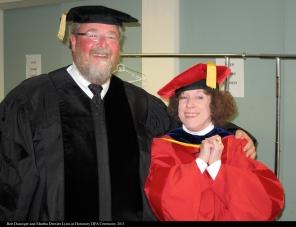 F0867 Bob Danziger and Martha Drexler Lynn at DFA Ceremony